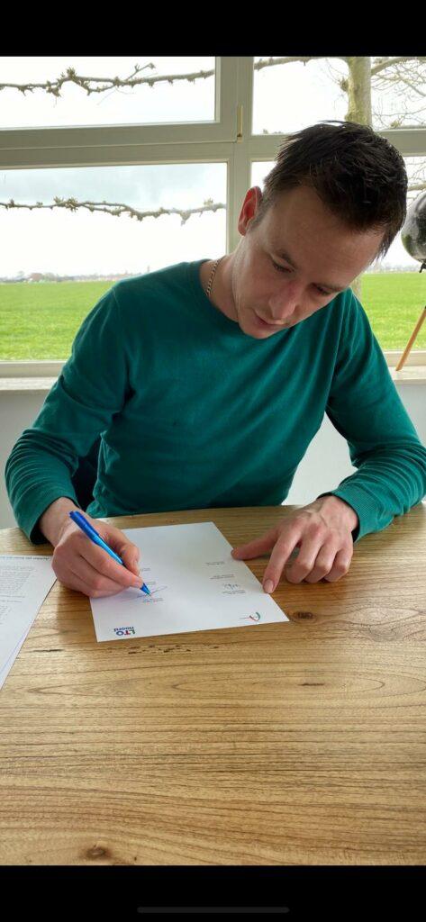 Ondertekening samenwerking LTO Noord
